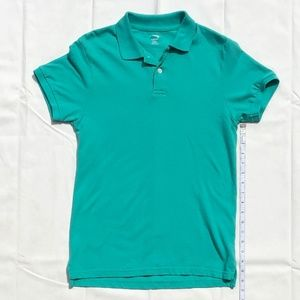 Old Navy washed green polo, men's XS, never worn